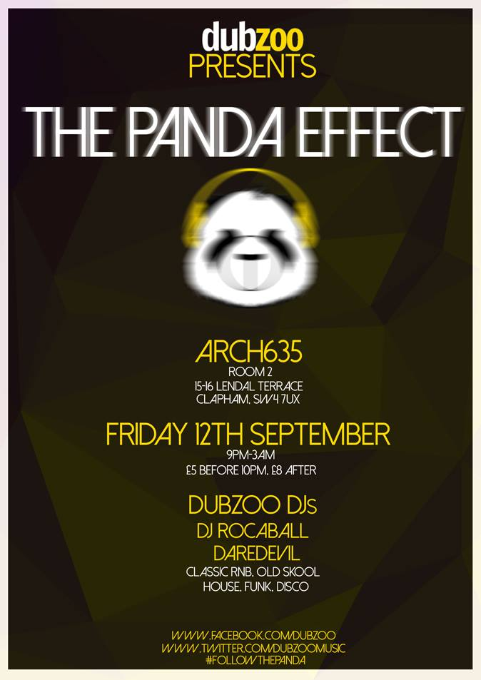 The Panda Effect - Friday 12th September 2014
